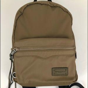 REBECCA MINKOFF Medium Nylon Backpack-Khaki-NWOT